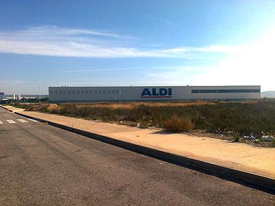 Ampliación base ALDI - San Isidro