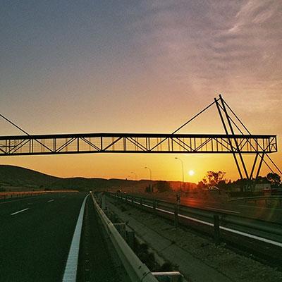 Pasarela AP-7 - Alicante